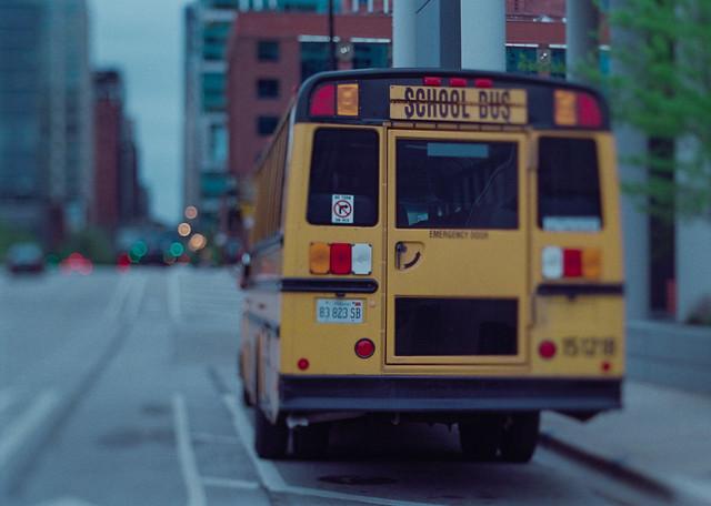 Chicago Yellow School Bus