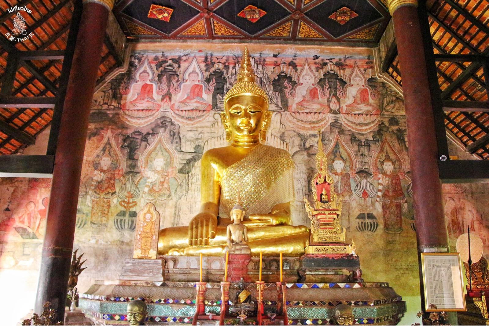 傳奇壁畫的起源-農播寺(วัดหนองบัว)