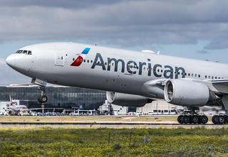 Despegue American 777 spotter day Madrid | by Oriol Federico