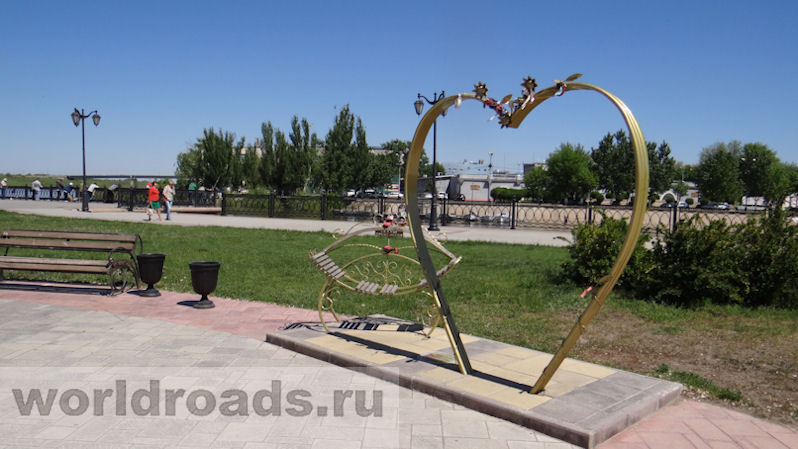 Набережная Астрахани