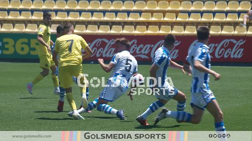 Copa del Rey Juvenil (1/4, ida) Villarreal CF 4-1 Real Sociedad (02/06/2019), Jorge Sastriques