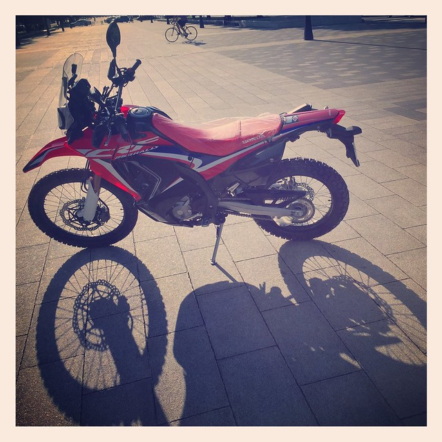 Honda CRF250 RALLY Type LD MD44 2019