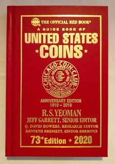Chicago Coin Club 100th Anniversary Redbook cover