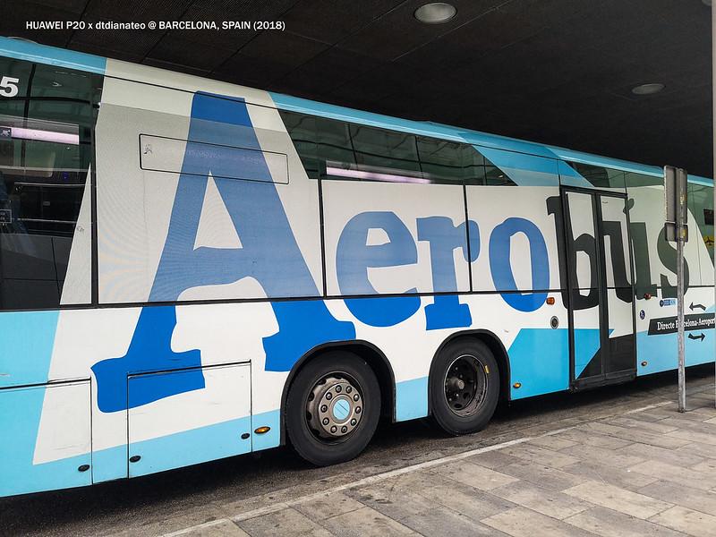 2018 Spain Barcelona Aerobus-1