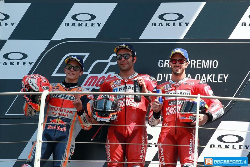 MotoGP podium
