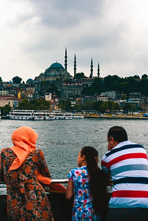 Ferry on the Golden Horn, Istanbul | by sdhaddow