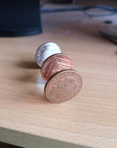Balanced coins