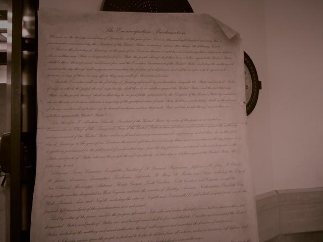 Juneteenth Celebration - Eiteljorg Museum - Raparations Paid In Blood (The Emancipation Proclamation)