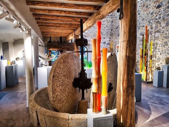Showroom du maître verrier Antoine PIERINI - Biot - Côte d'Azur France - IMG_20190406_173211