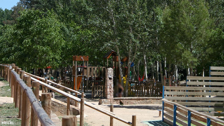 área recreativa ruta del agua Chelva