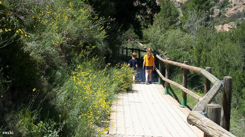 Ruta del agua en Chelva, una experiencia genial en familia