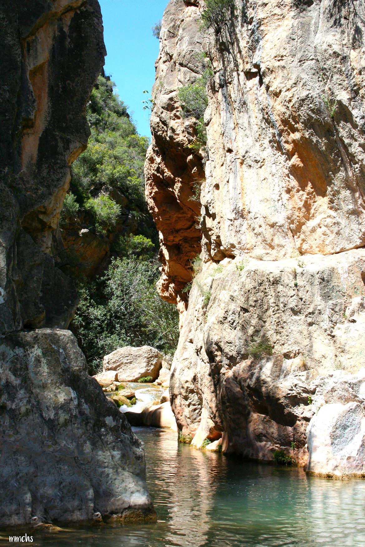 la Playeta Chelva ruta del agua
