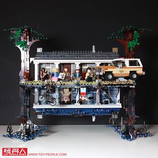 嶄新拼搭方式加上還原度超高角色人偶,劇迷千萬別錯過!! LEGO 75810《怪奇物語》顛倒世界 The Upside Down 開箱報告