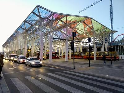 Piotrkowska-Centrum tram station, Łódź, Poland
