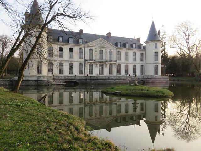 Château d'Ermenonville (Oise, Picardie)
