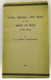 Coins, Medals, and Seals of the Shahs of Iran book cover