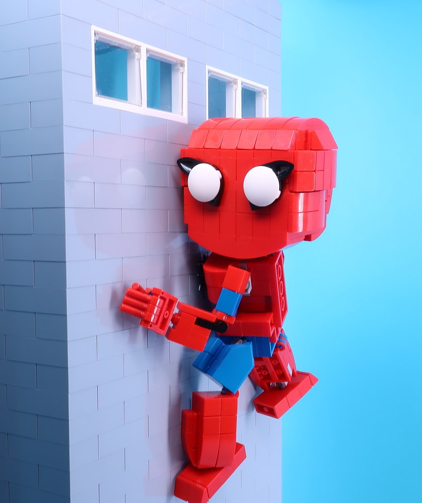 Spidy #lego #moc #legomoc #legophotography #legocreation   #legolife #legobuilder #superhero #marvel #farfromhome  #spiderman