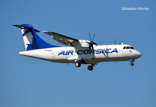 ATR.42-500 AIR CORSICA F-HAIB 637 LA LIAISON FOR AIRBUS EX OK-KFN CSA 02 06 19 TLS | by L'AMI DU TARMAC