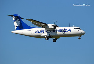 ATR.42-500 AIR CORSICA F-HAIB 637 LA LIAISON FOR AIRBUS EX OK-KFN CSA 02 06 19 TLS