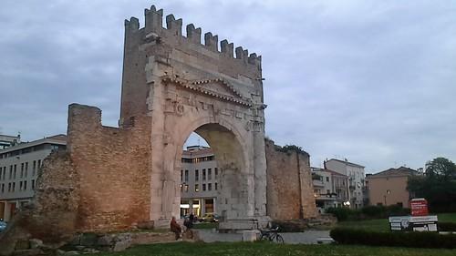L'arco d'Augusto - Rimini