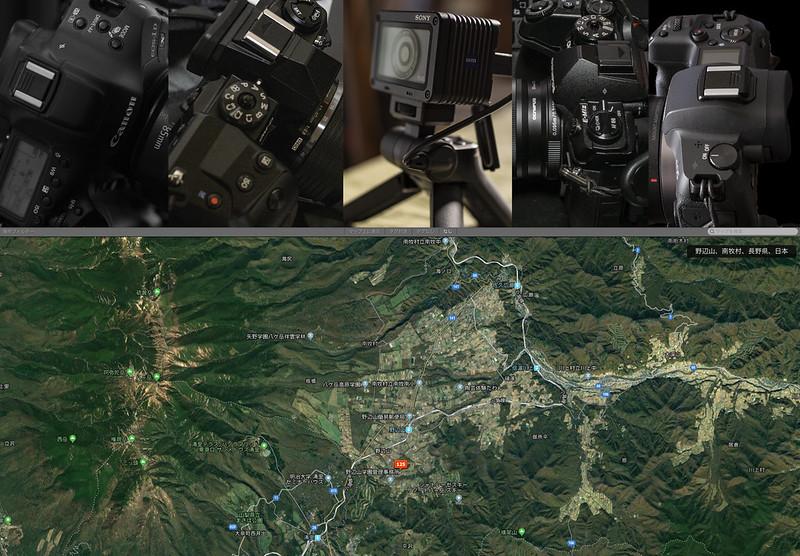 国立天文台野辺山星空撮影会2019_map