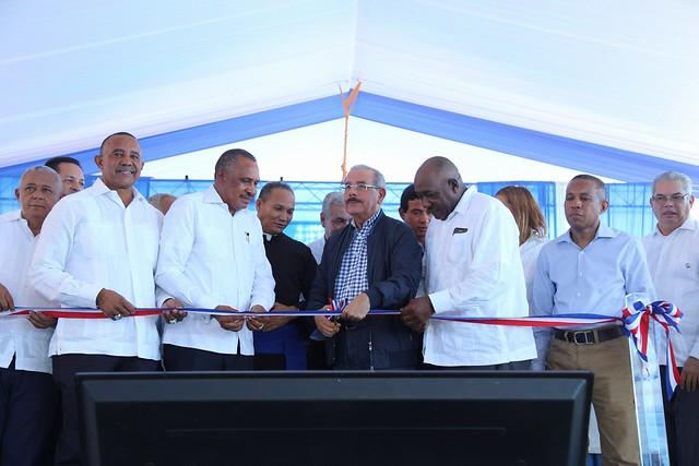 Danilo pone fin a 40 años de espera: entrega canal Maguaca y otras obras hidráulicas y de riego a productores del Bajo Yaque del Norte