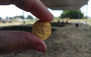 Ninth century gold coin find