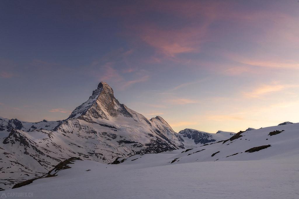 Dusk - Matterhorn