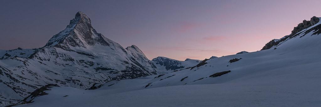 After glow - Matterhorn