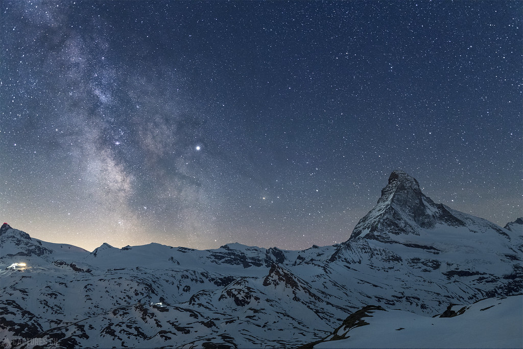 Milky way - Matterhorn