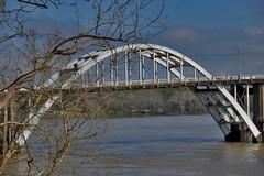 The Edmund Pettus Bridge Over the Alabama River at Selma March 2019