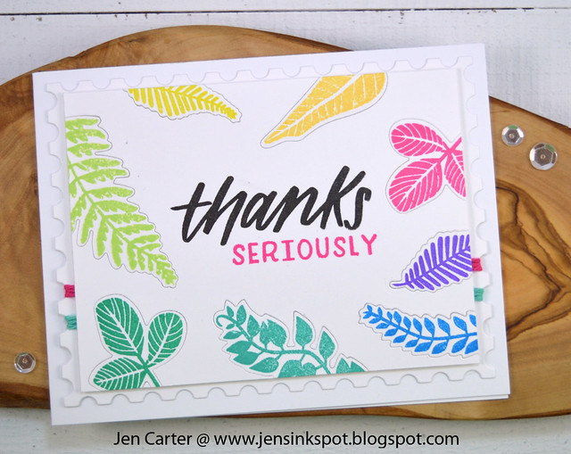 Jen Carter Thanks Seriously Forest Foliage