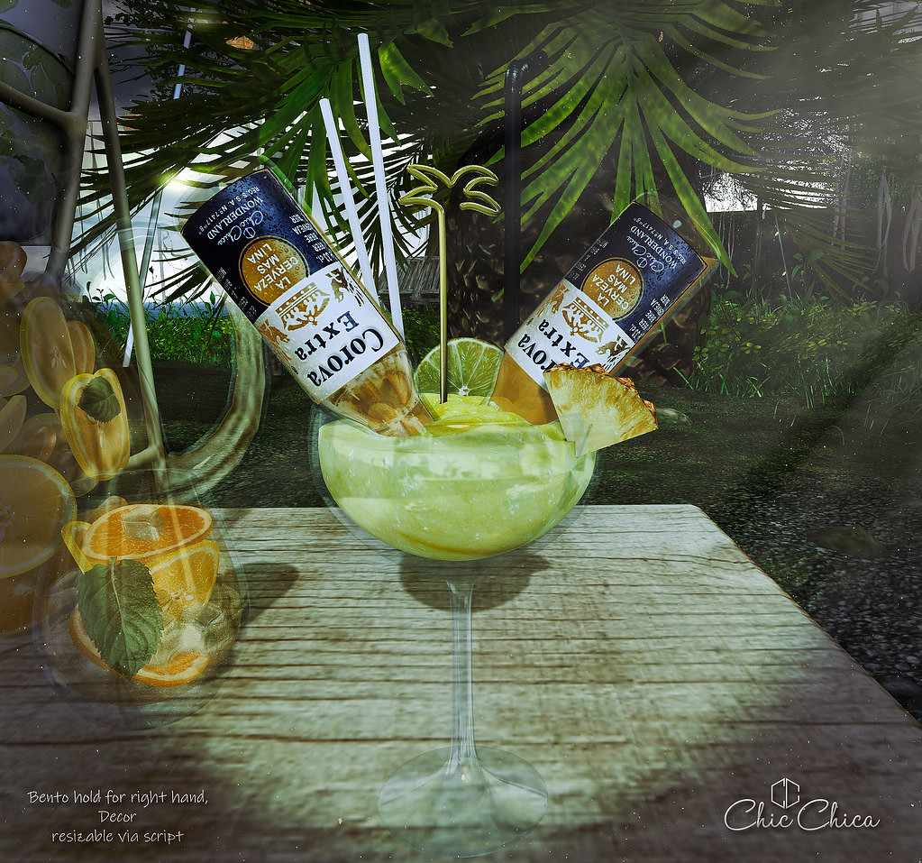 Beer margarita by ChicChica @ Cosmopolitan