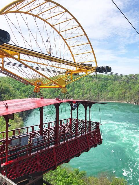 Niagara Falls Whirlpool Aero Car #travelblogger #Canada