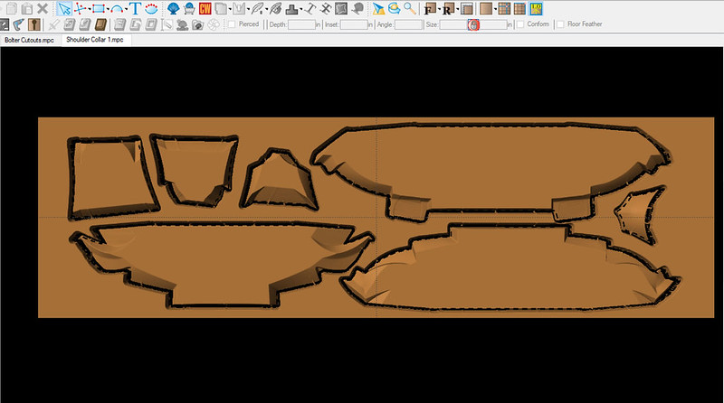 Collar Carving Layout