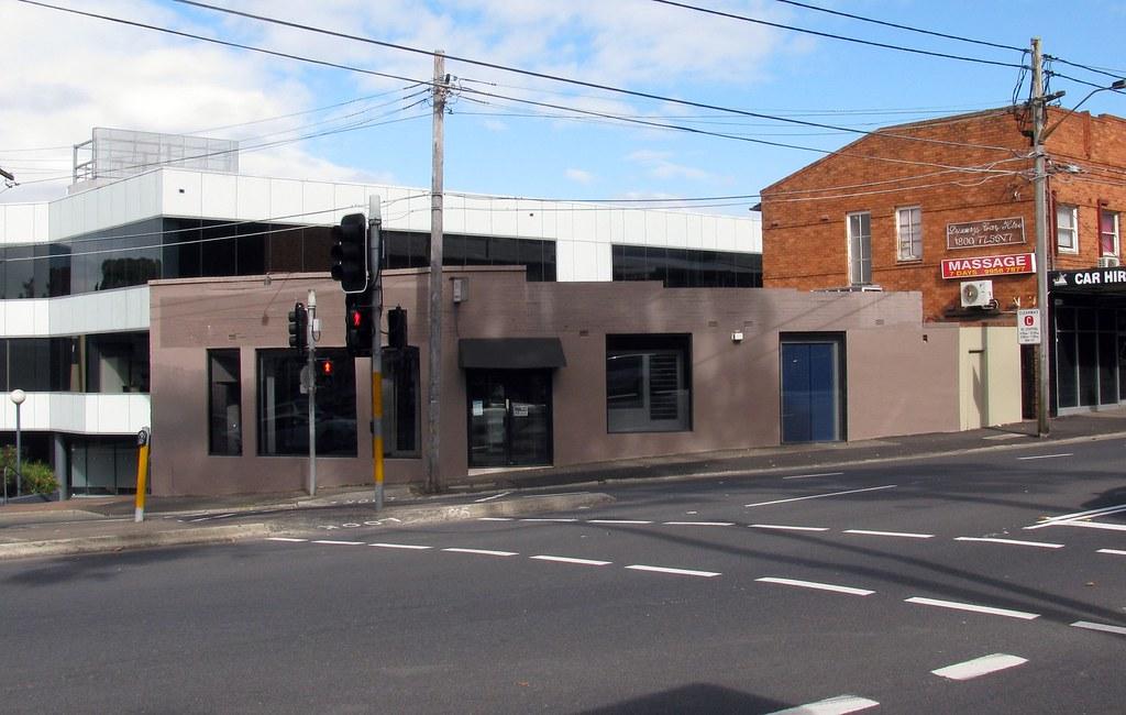 Splayed Corner, Willoughby, Sydney, NSW.