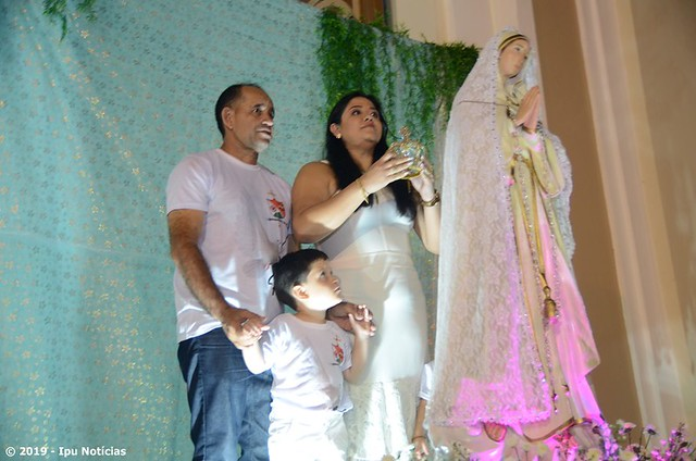 Missa encerrando do mês de maio e Coroação de Nossa Senhora em Ipu