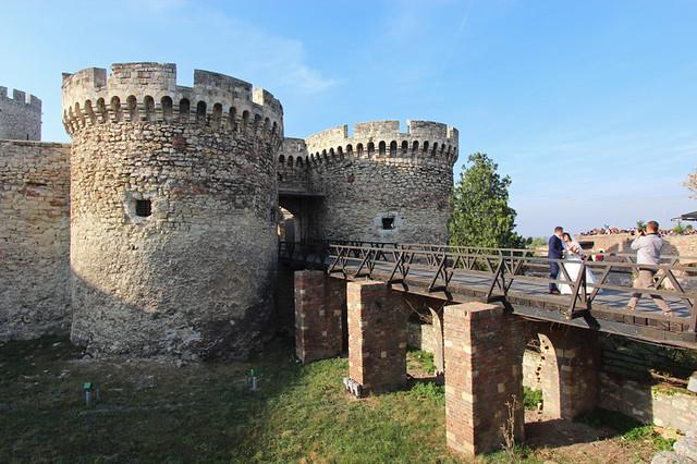Wedding at Belgrade Fortress -  Belgrade, Serbia