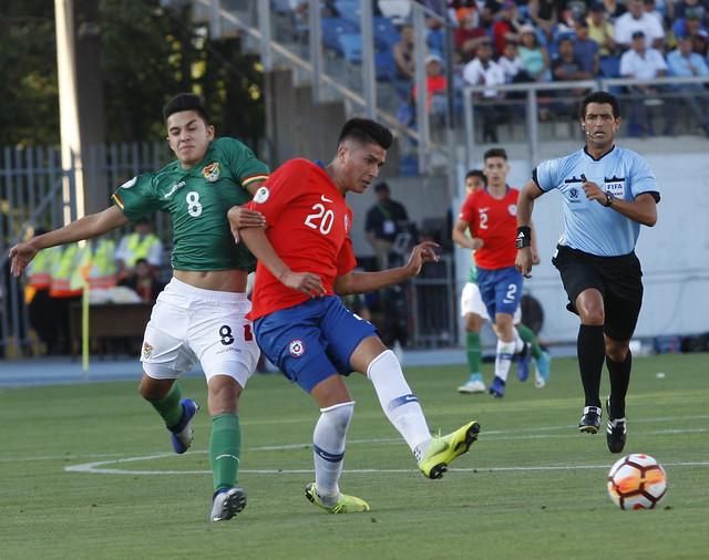 Fase grupo | Fecha 1: Chile Sub 20 1-1 Bolivia