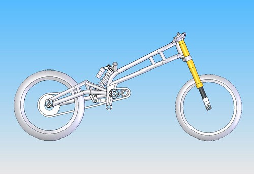 20190602 image 1.0 rz350 frame assembly 2019   by andbike