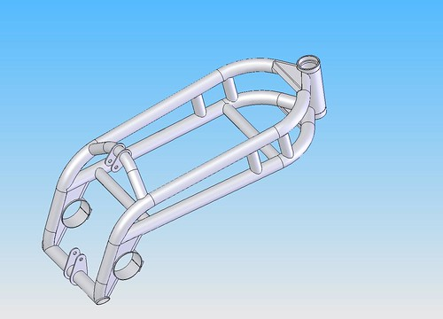 20190602 image 1.2 rz350 frame assembly 2019 | by andbike