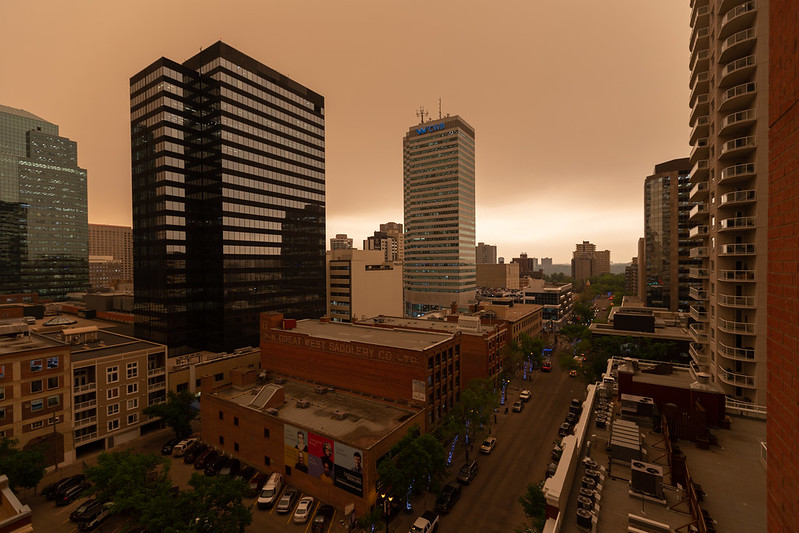 Smoky Downtown