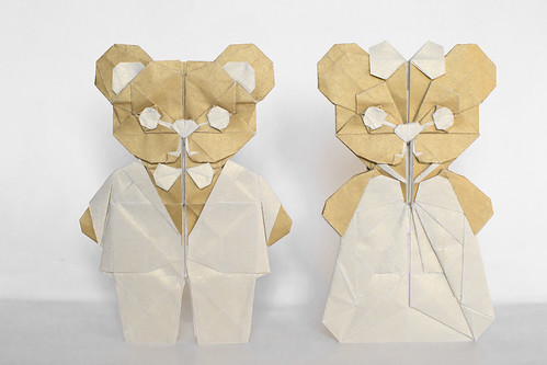 Teddy Bear v2 - Bride and Groom (Refold) | by michelle_fung