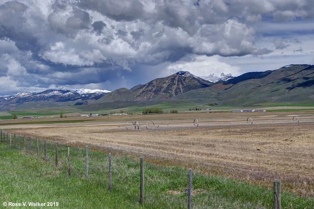 Preuss Range Storm Clouds