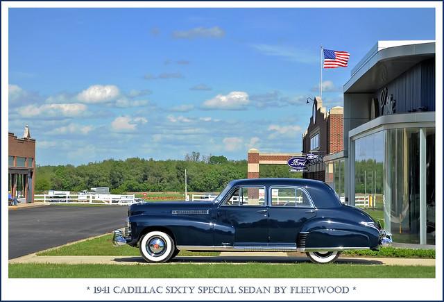 1941 Cadillac Sixty Special Sedan by Fleetwood