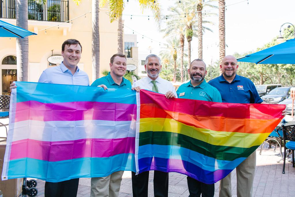 Pride Flag Distribution
