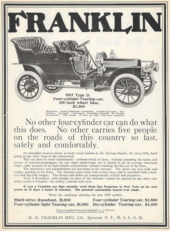 1907 Franklin Type D