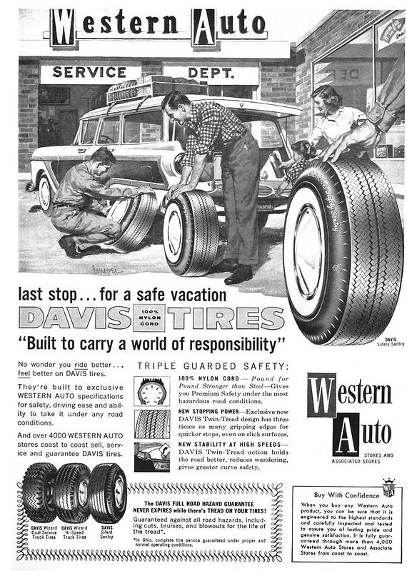 Western Auto 1958