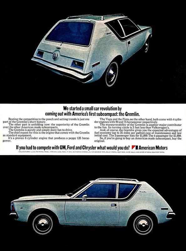 1970 American Motors Gremlin