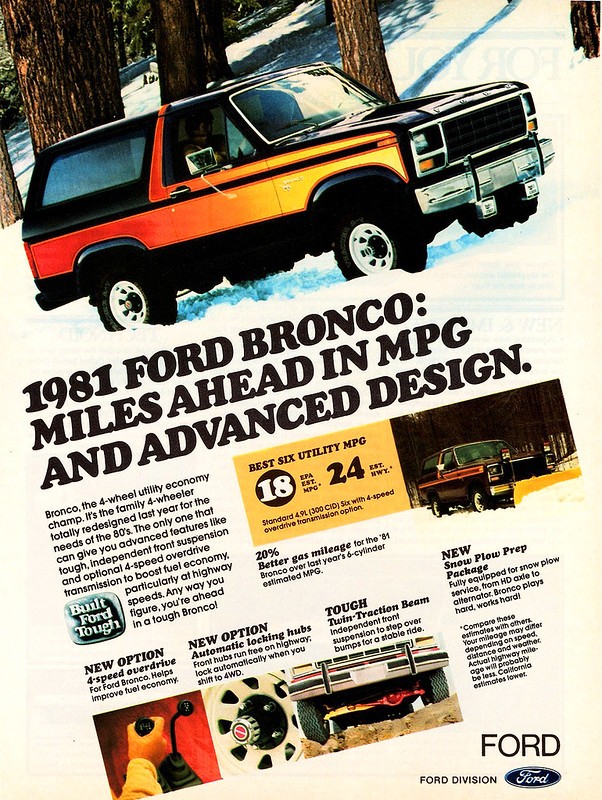 1981 Ford Bronco